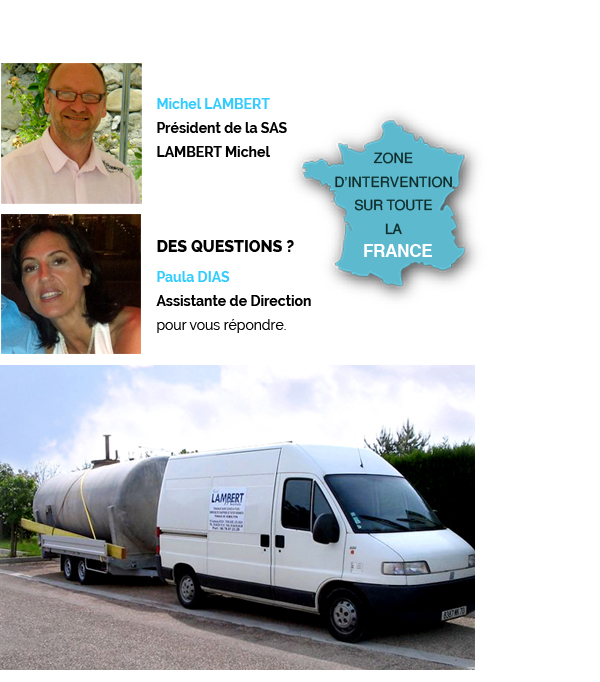 travaux cuves fuel france